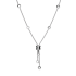 Bvlgari B.ZERO1 replica necklace white gold small pendant