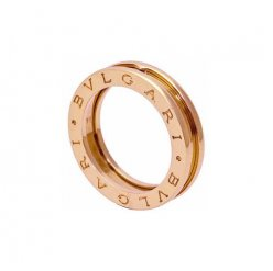 Bvlgari B.ZERO1 copy ring pink gold 1 band ring