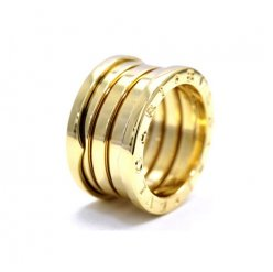 Bvlgari B.ZERO1 Replik Ring gelbes Gold 1 Band Ring