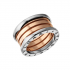 Bvlgari B.ZERO1 Replik Ring 3-Gold 4 Band Ring