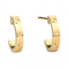 cartier replica love yellow gold earring screw design B8028800