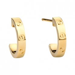 cartier replique love or jaune boucle d'oreille Conception de vis B8028800