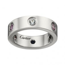 cartier replique love bague or blanc Saphirs Grenat améthyste