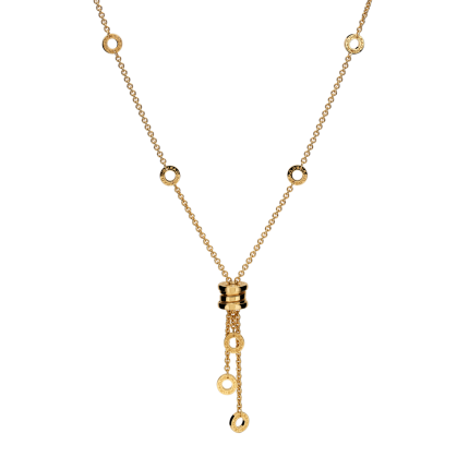 Bvlgari B.ZERO1 fake necklace yellow gold small pendant