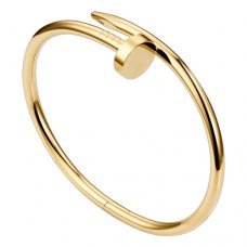 cartier replica juste un clou steel yellow gold bracelet B6037817