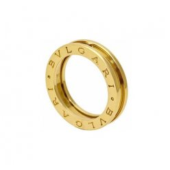 Bvlgari B.ZERO1 fake ring yellow gold 1 band ring