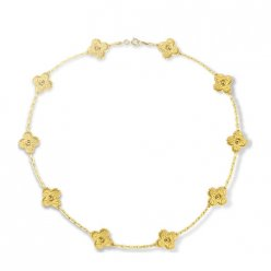 alhambra or jaune replique van cleef & arpels vcaro1qj00 collier