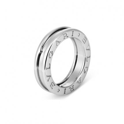 Bvlgari B.ZERO1 fake ring white gold 1 band ring