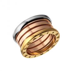 Bvlgari B.ZERO1 fake ring 3-gold 4 band ring