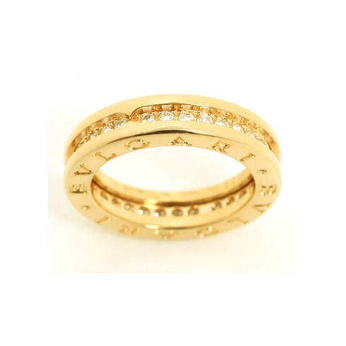 Bvlgari B.ZERO1 Replik Ring gelbes Gold 1 Band Mit Diamanten