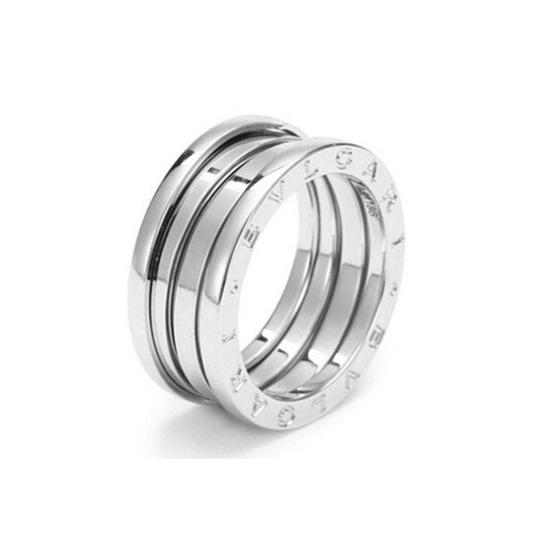 Bvlgari B.ZERO1 fake ring white gold 3 band ring