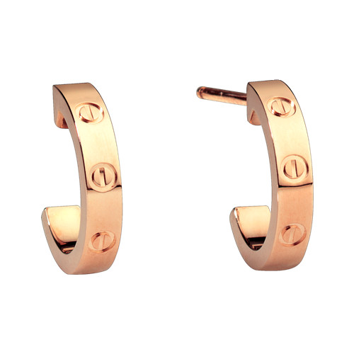cartier replika love Rosa Gold Ohrring Schraube Design B8029000