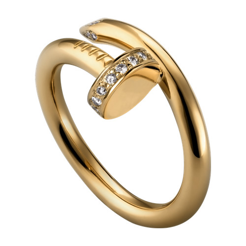 cartier yellow gold juste un clou ring diamond replica B4216900